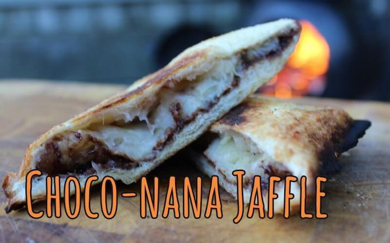 Choco-nana-Jaffle