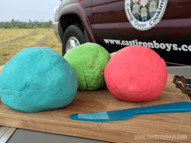 How to Make Play Doh | Kids Camping Activity | The Camp Oven Cook