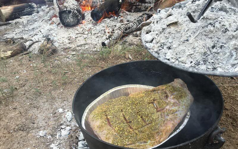Check your heat | Heat control tips for Camp Oven Cooking