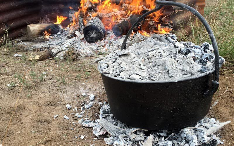 Top and Bottom Heat | Heat control tips for Camp Oven Cooking