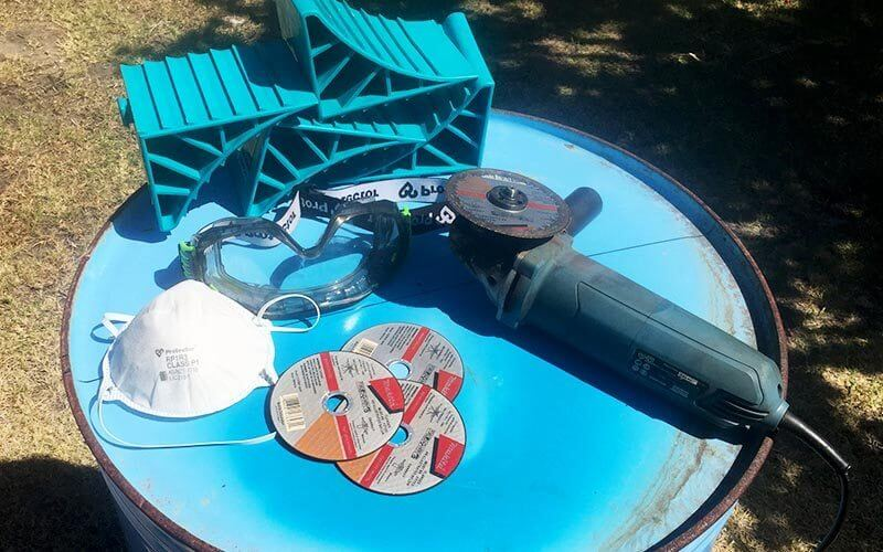 How To Make A Fire Pit Made From A 44 Gallon Drum Part