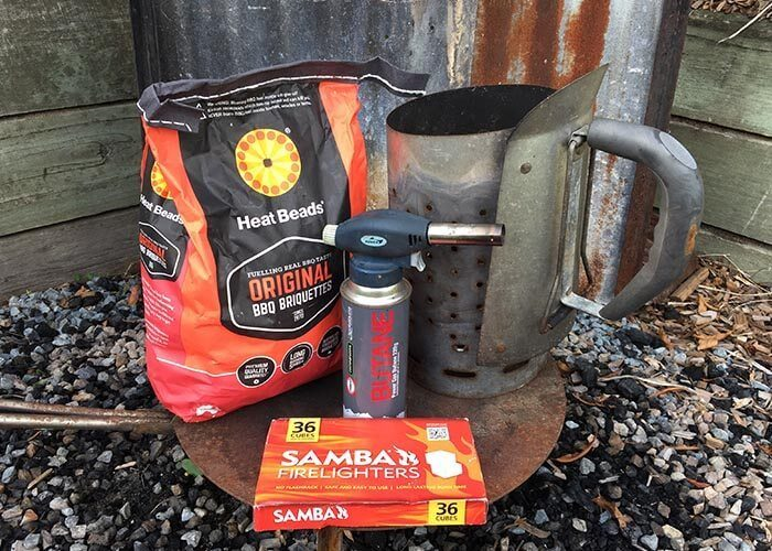 How to light Heat Beads® BBQ Briquettes.