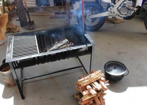 How to make a fire pit from a 44 Gallon Drum!