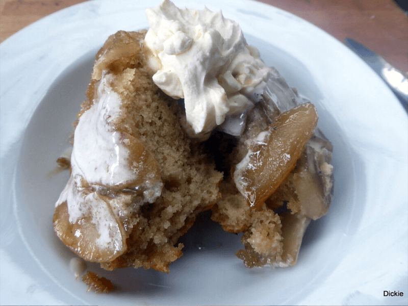 Apple Cinnamon Sponge