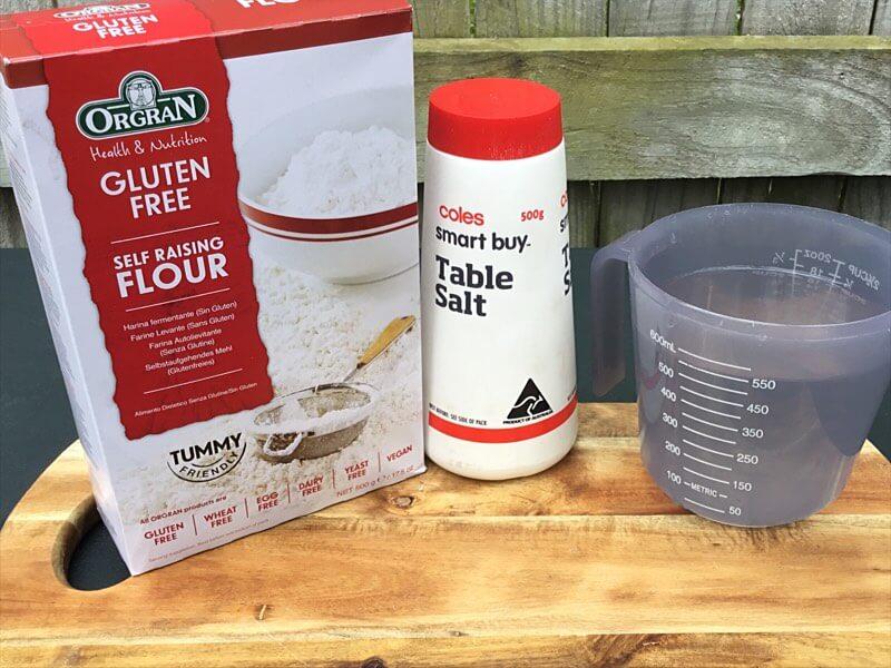 Gluten-Free Damper gluten free damper