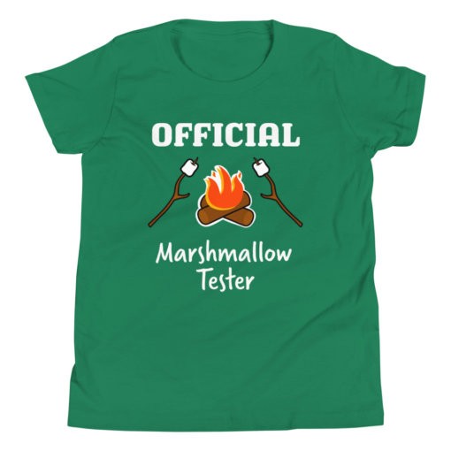 Marshmallow Tester Kids T-Shirt 5