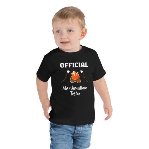 Offical Marshmallow Tester Toddler Tee 1