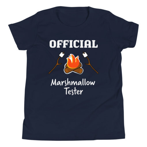 Marshmallow Tester Kids T-Shirt 4