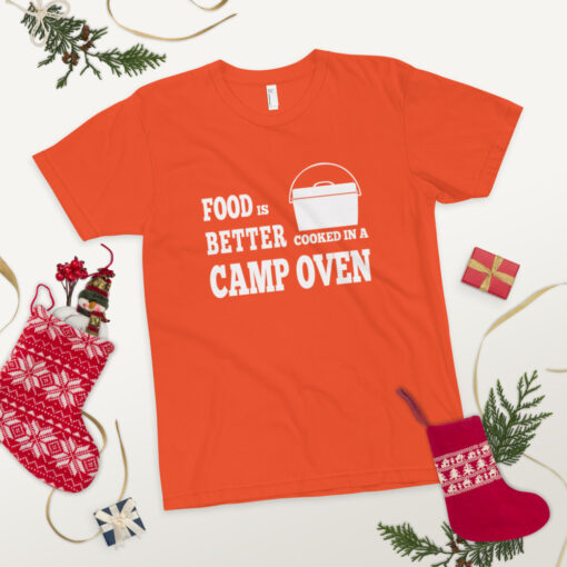Food is better cooked in a camp oven - Adult 16
