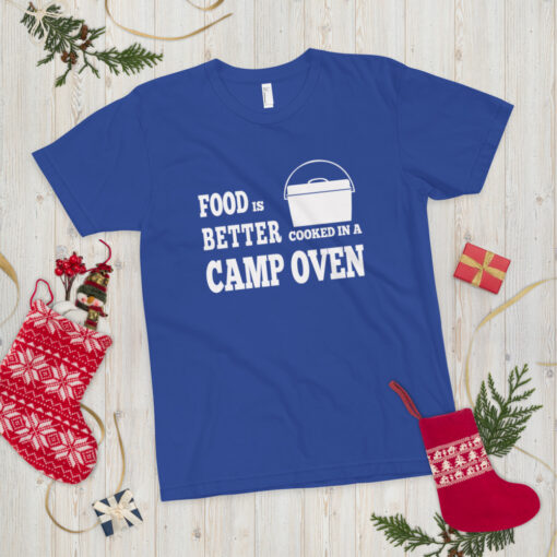 Food is better cooked in a camp oven - Adult 7