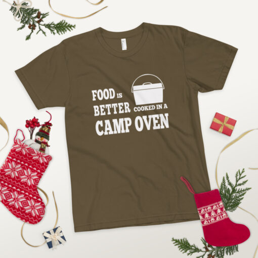 Food is better cooked in a camp oven - Adult 10