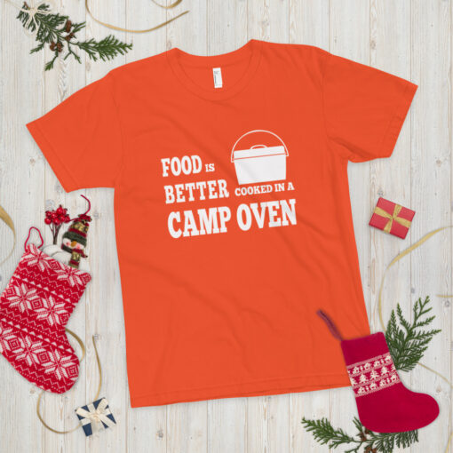 Food is better cooked in a camp oven - Adult 15