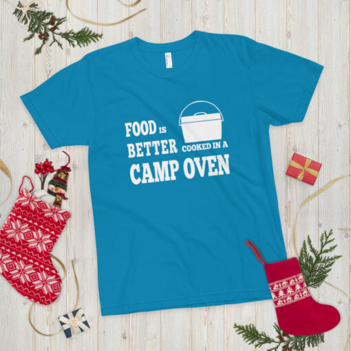 Food is better cooked in a camp oven - Adult | The Camp Oven Cook