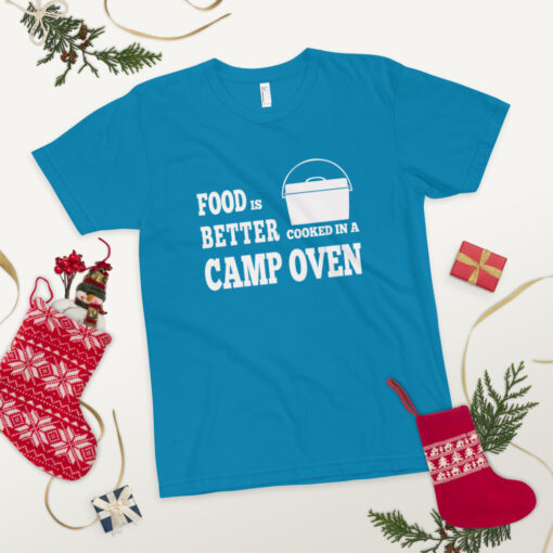 Food is better cooked in a camp oven - Adult 18