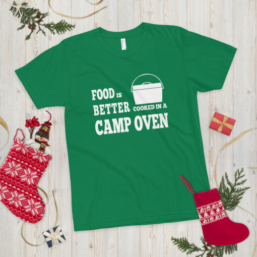 Food is better cooked in a camp oven - Adult 13