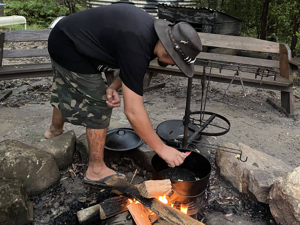 Talking Camp Oven Cooking with Jamie Hazelden   The Camp Oven Cook