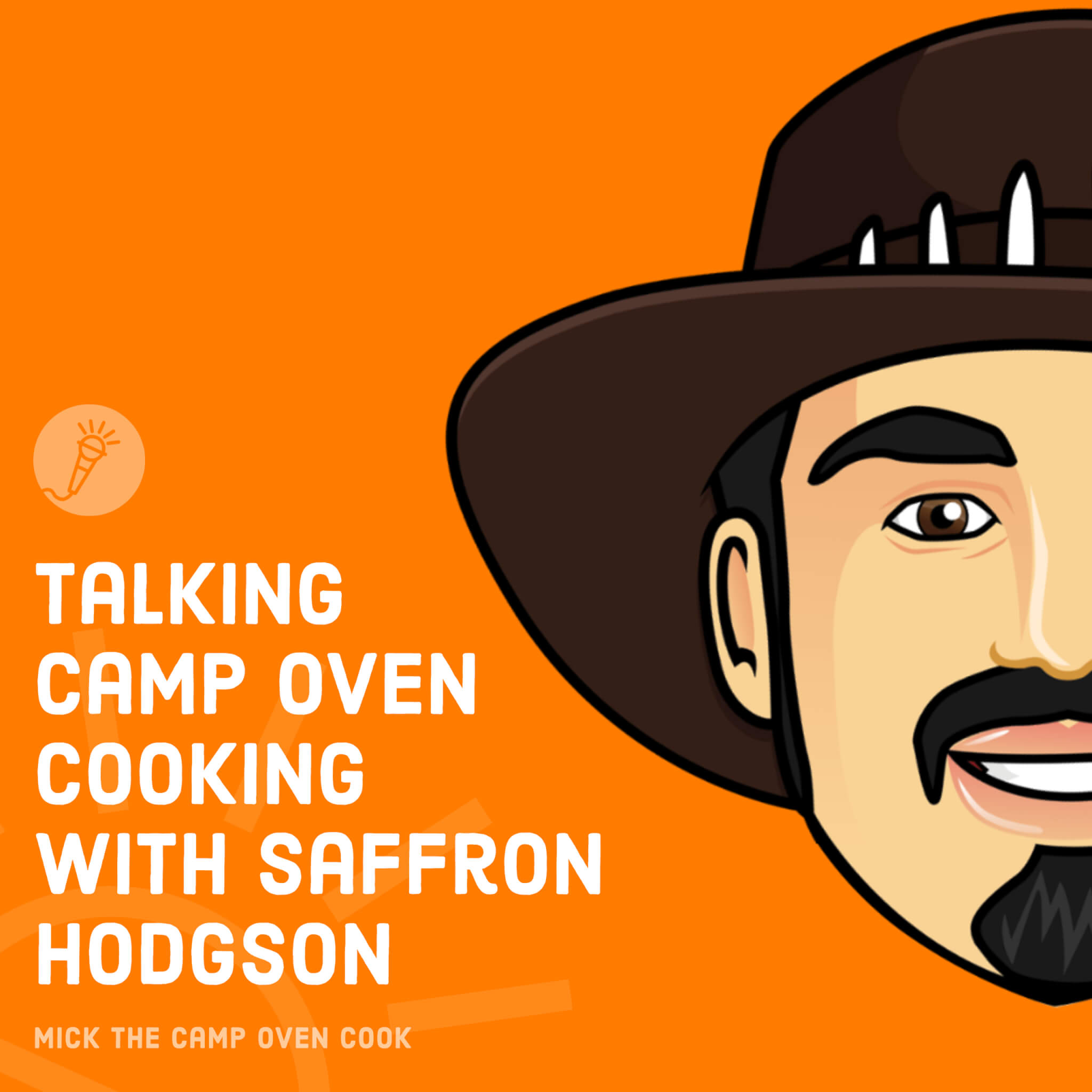 Talking Camp Oven Cooking with Saffron Hodgson