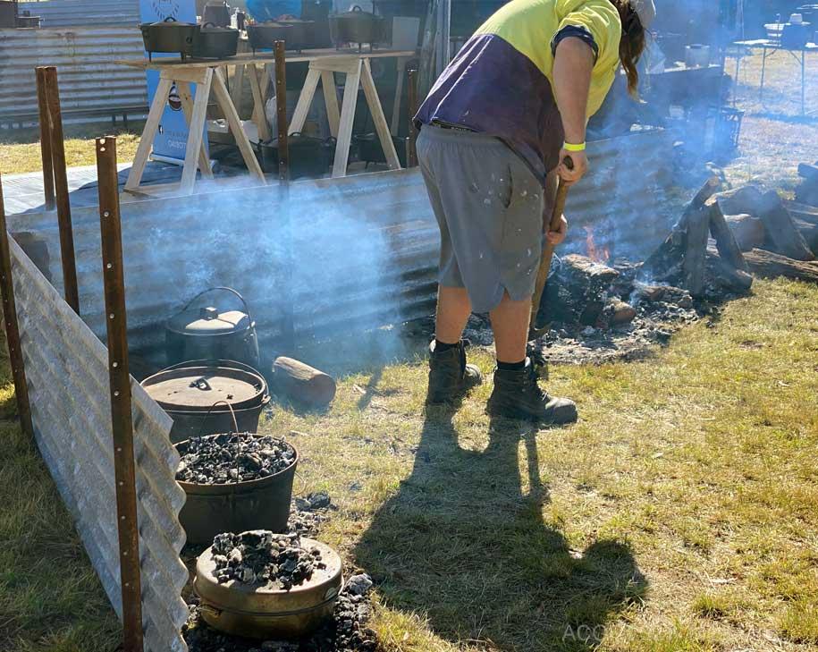 2021 Australian Camp Oven Festival Millmerran   The Camp Oven Cook